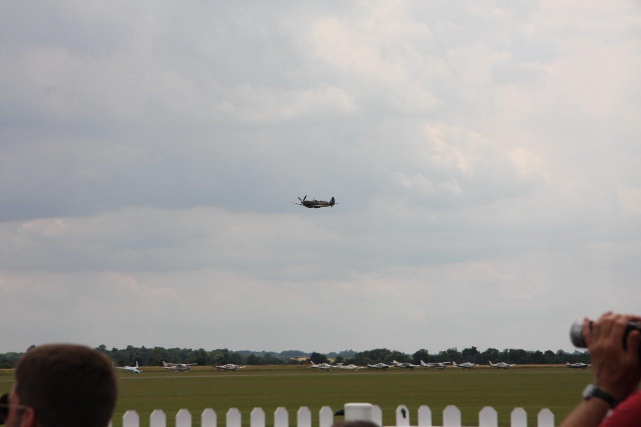 Spitfire im Vorbeiflug