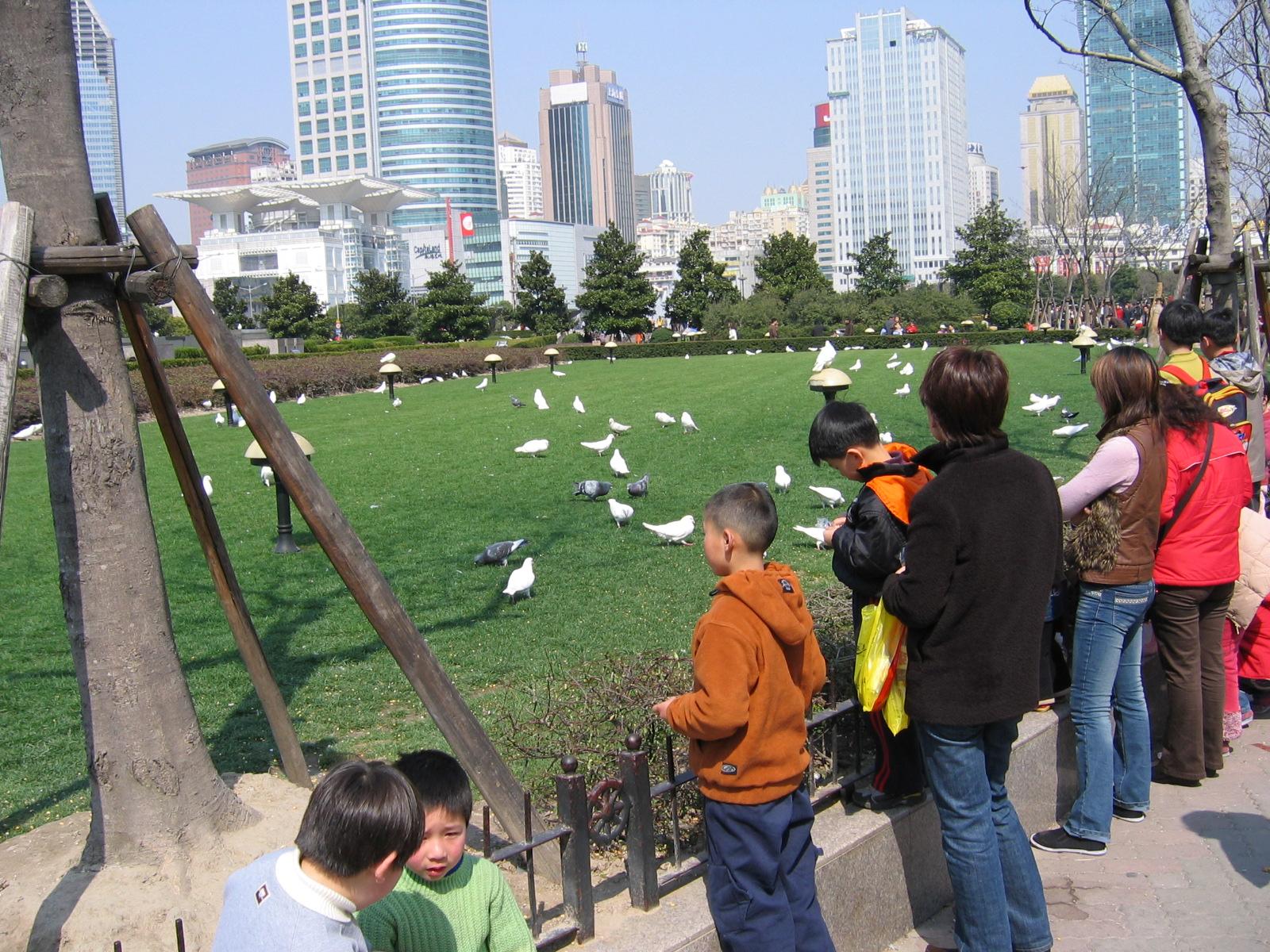 Yuyuan-Garden ist nicht der einzige grüne Fleck in Shanghai
