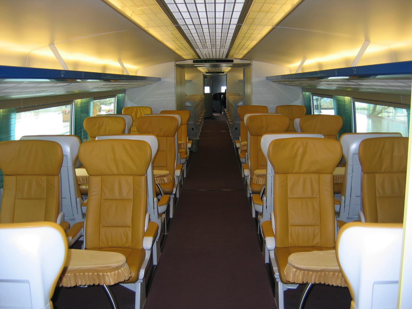 Umgerechnet 8€ für die Fahrt erster Klasse, rund 30km