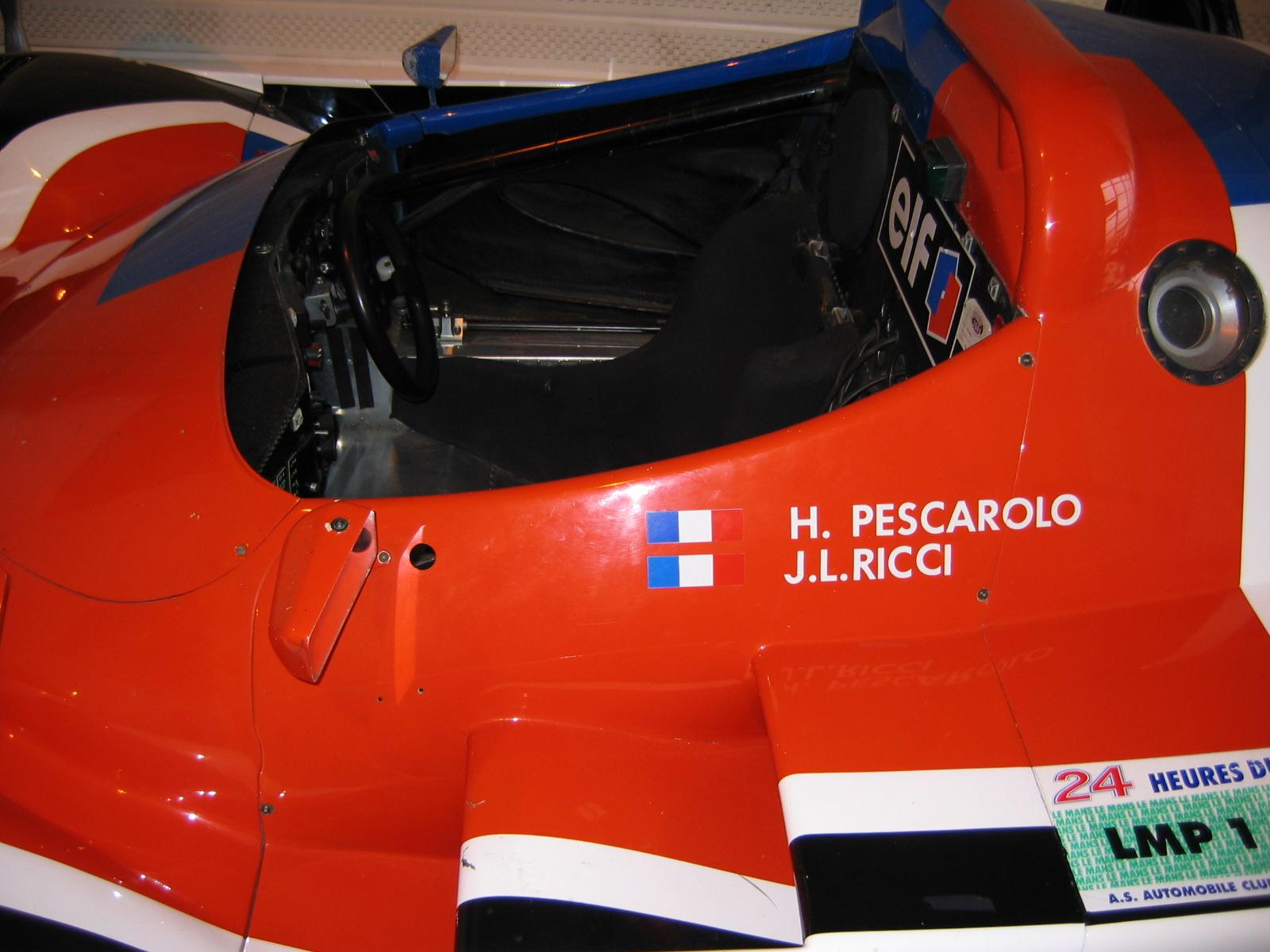Le Mans- Legende Henri Pescarolo, als Fahrer: 33 Rennen, 4 Geamtsiege, 2 Klassensiege, als Team-Eigner 2. hinter Audi 2005