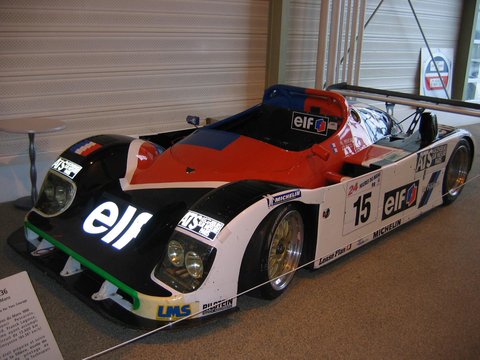 Courage C36, Pescarolo/Mantagny/Grouillard von 1998