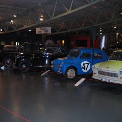 Nicht alle, die im Museum stehen, sind in Le Mans gefahren ;-)