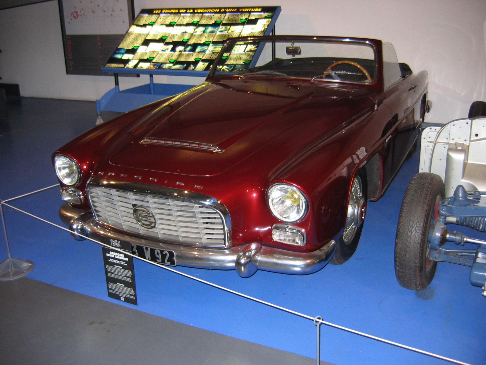 Gregore Sport Cabriolet von 1955