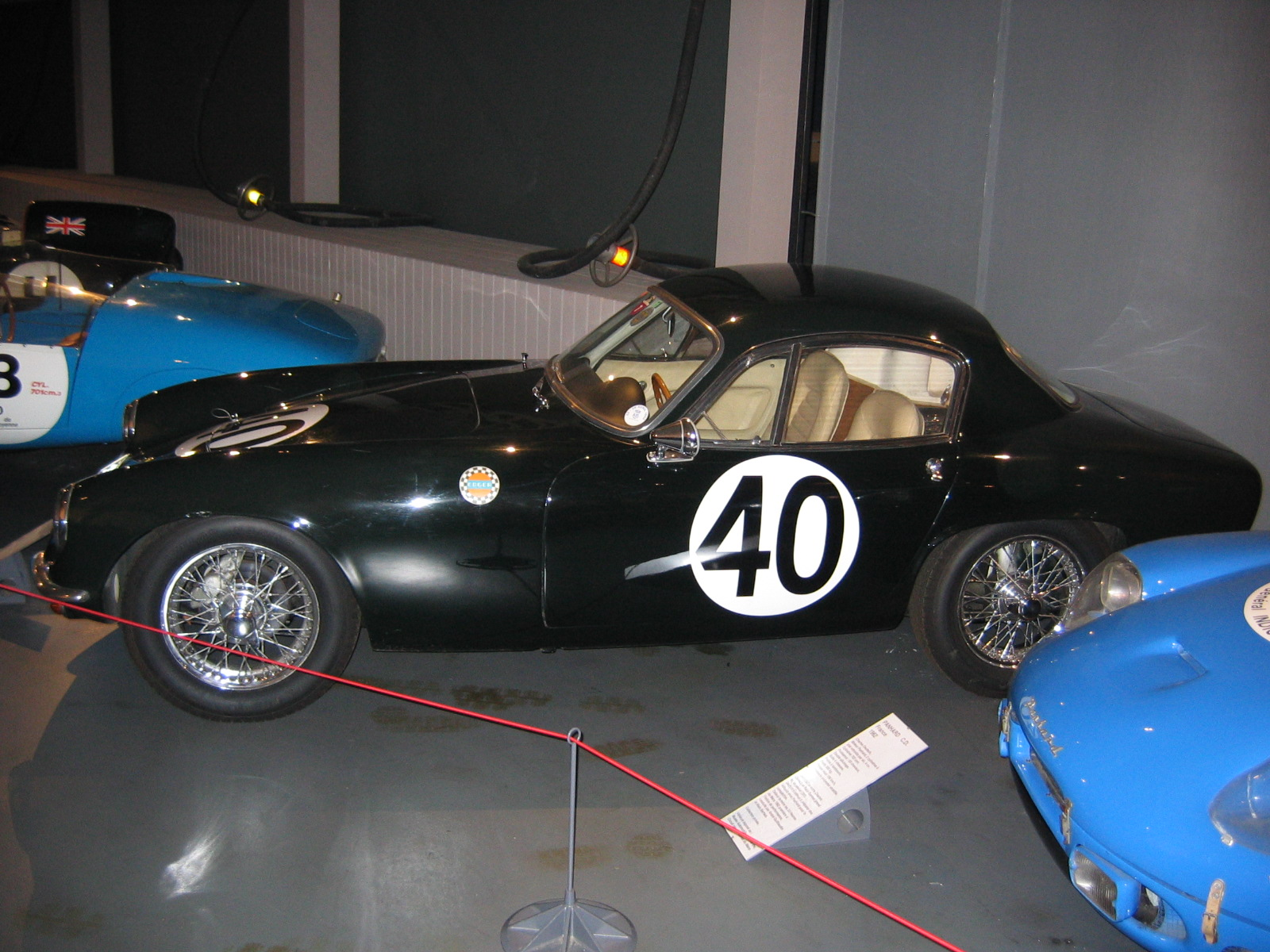 Rennsportlegende Lotus Elite