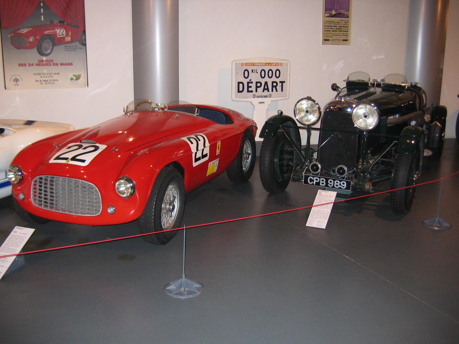 Ferrari und Lagonda. Allein die Namen beschleunigen den Puls