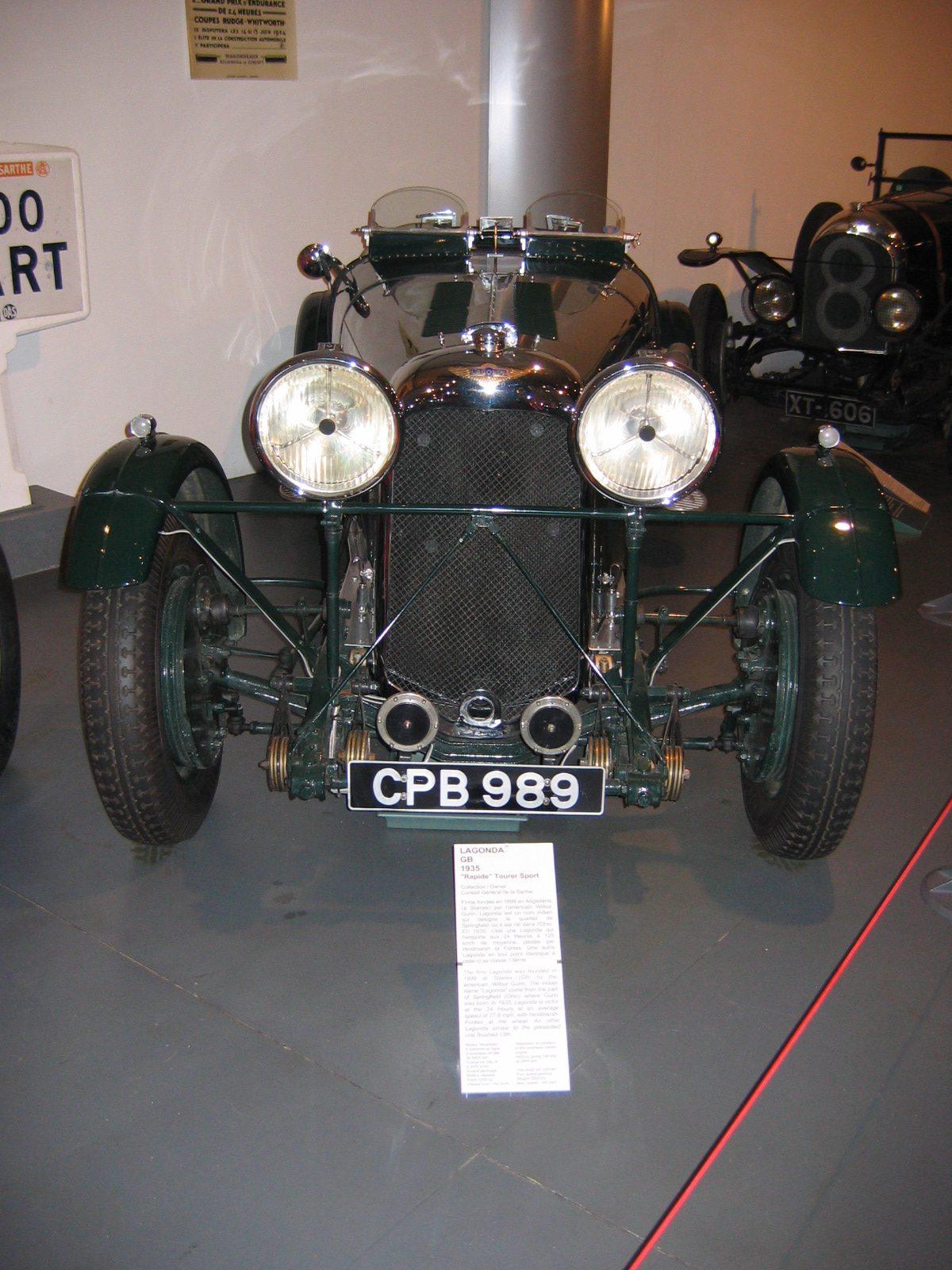 Ein Lagonda M45 R Rapide von 1935