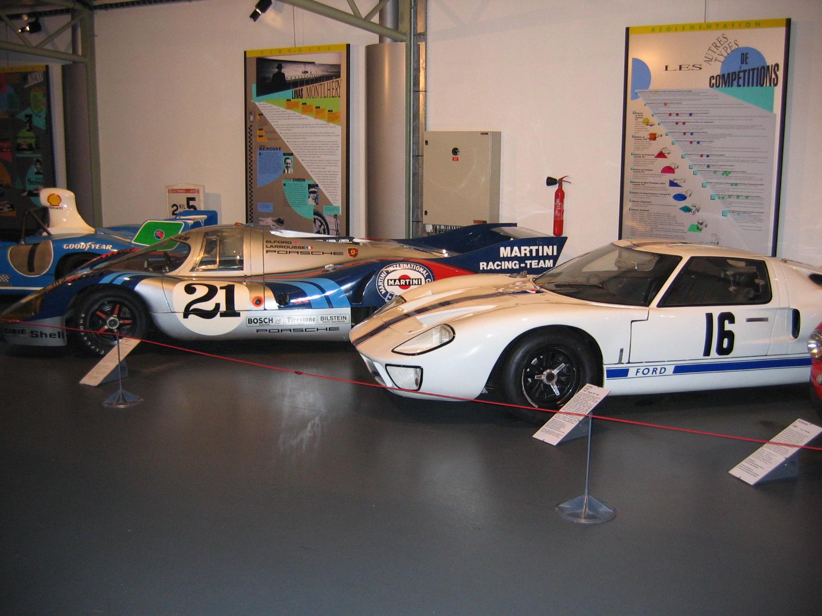 Ford GT 40, von Ford France eingesetzt 1967
