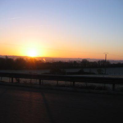 Früh die Sonne begrüßen