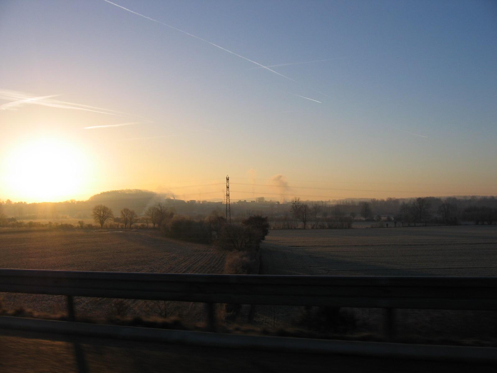 Was nützt aller Sonnenaufgang, wenn niemand aufsteht ihn zu sehen?