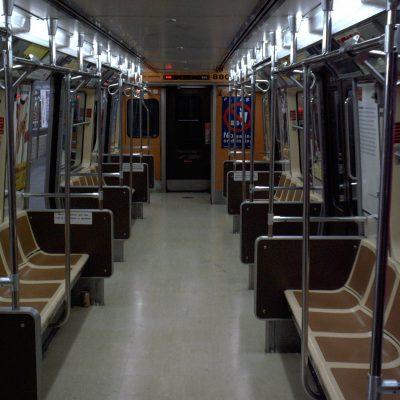 Flugs in die U-Bahn, und ab zum Empire State Building