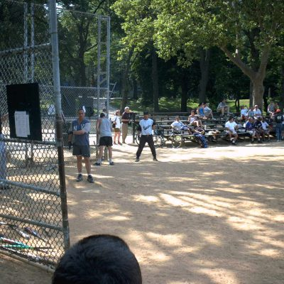 Softball im Central Park