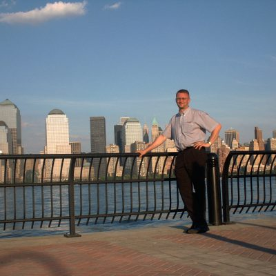 Der Blick Richtung Lower Manhattan
