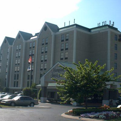 Meine Herberge für eine Nacht, Hampton Inn & Suites