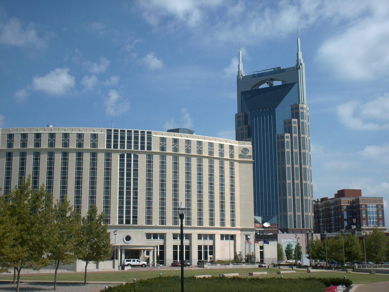 Das BellSouth Gebäude.