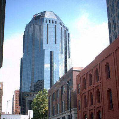 Warum hat die US Bank diese Gebäudeform gewählt???