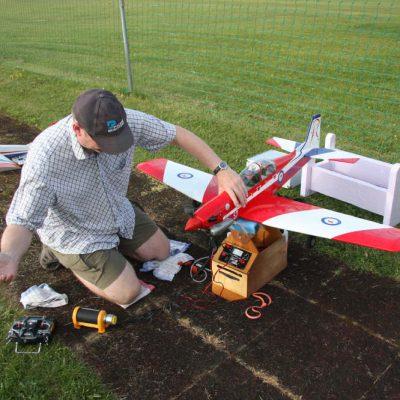 Pilatus PC9, mit Verbrennermotor