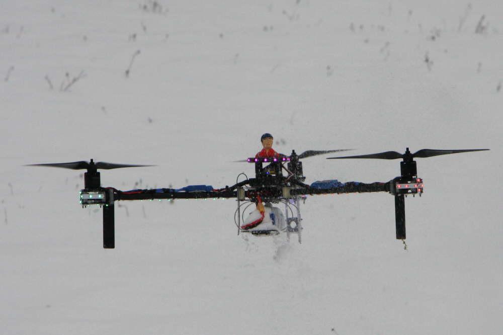 Tricopter, leicht und Flott