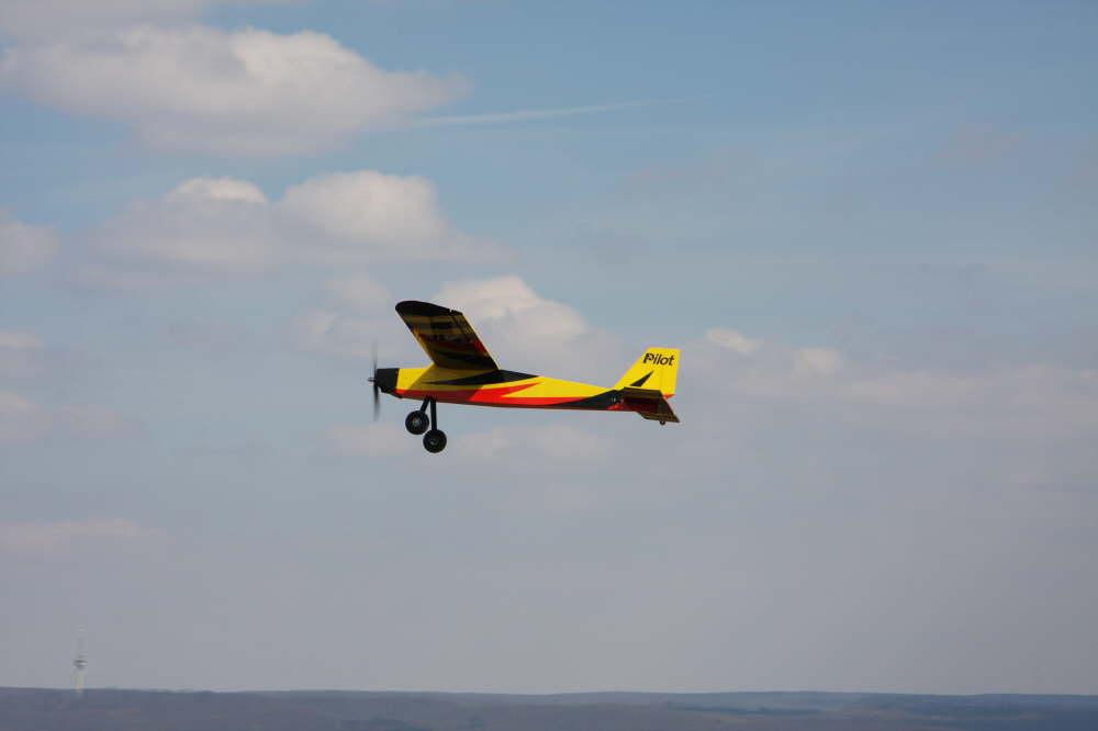 Mein Elektro-Schleppflieger und Trainer