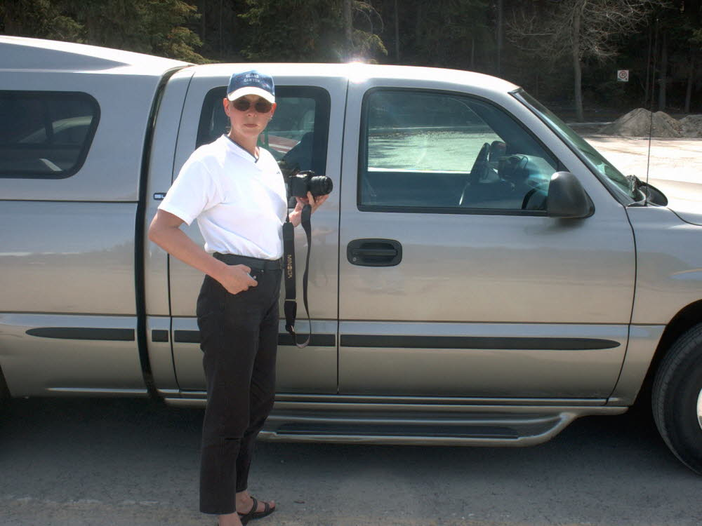 Unser Reiseauto, der Pickup meines Bruders