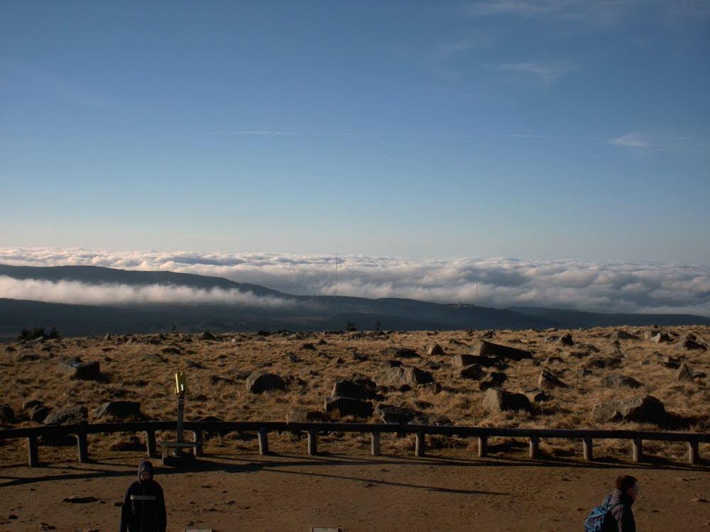Blick nach Torfhaus, weniger Wolken