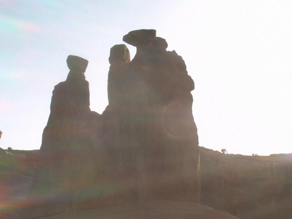 Die drei Geschworenen im Arches Nationalpark