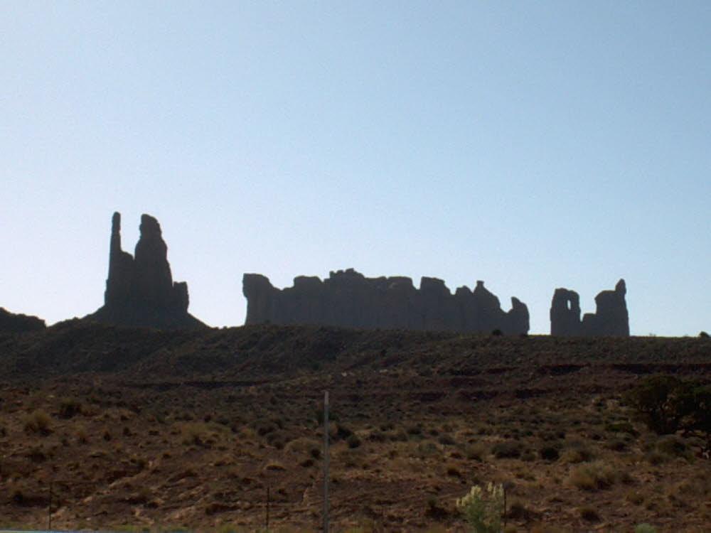 Hier wurden Western gedreht, Monument Valley