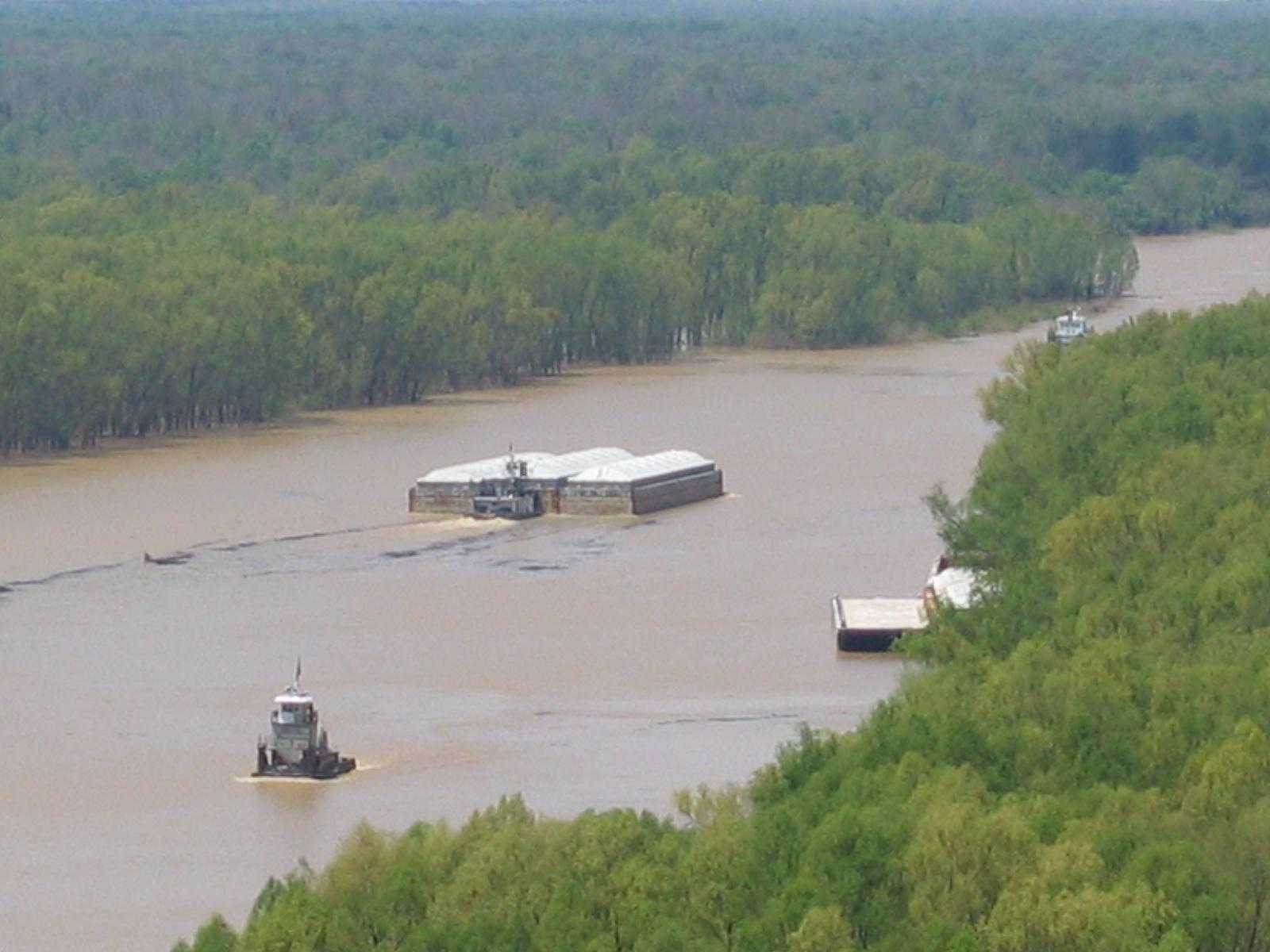 Der Yazoo River war schon immer ein wichtiger Transportweg