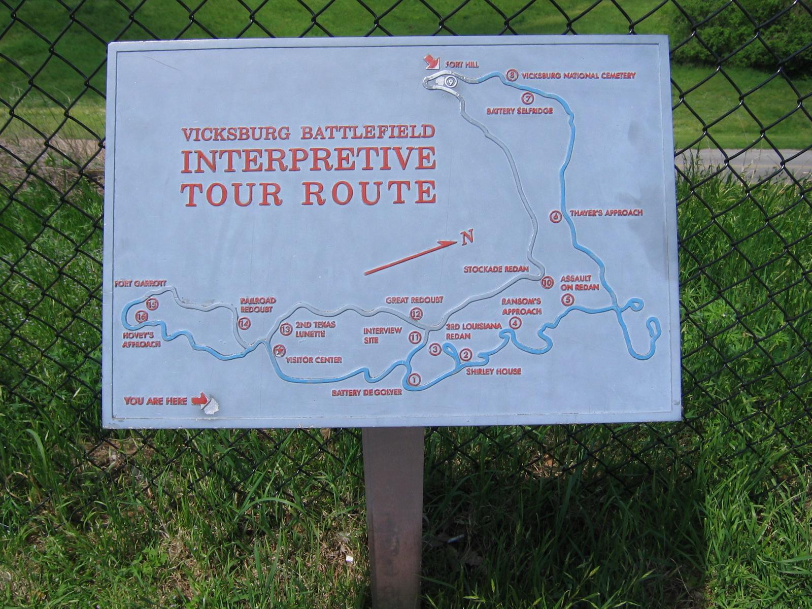 In Vicksburg und Umgebung gibt es viele historische Stätten