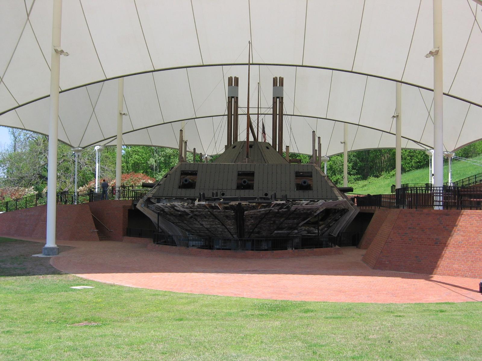 Im Bürgerkrieg fuhren hier Kanonenboote wie die Cairo. Sie wurde auf dem Yazoo River versenkt.