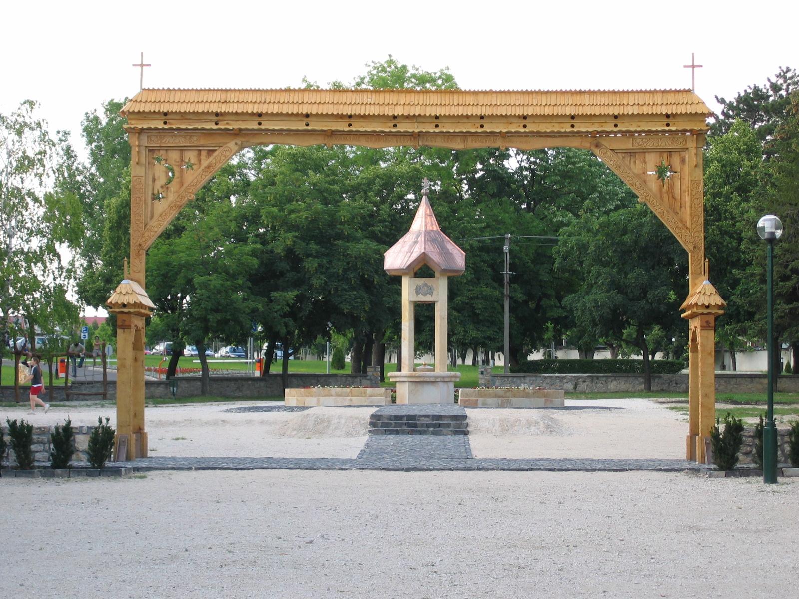 Das Trianon-Denkmal