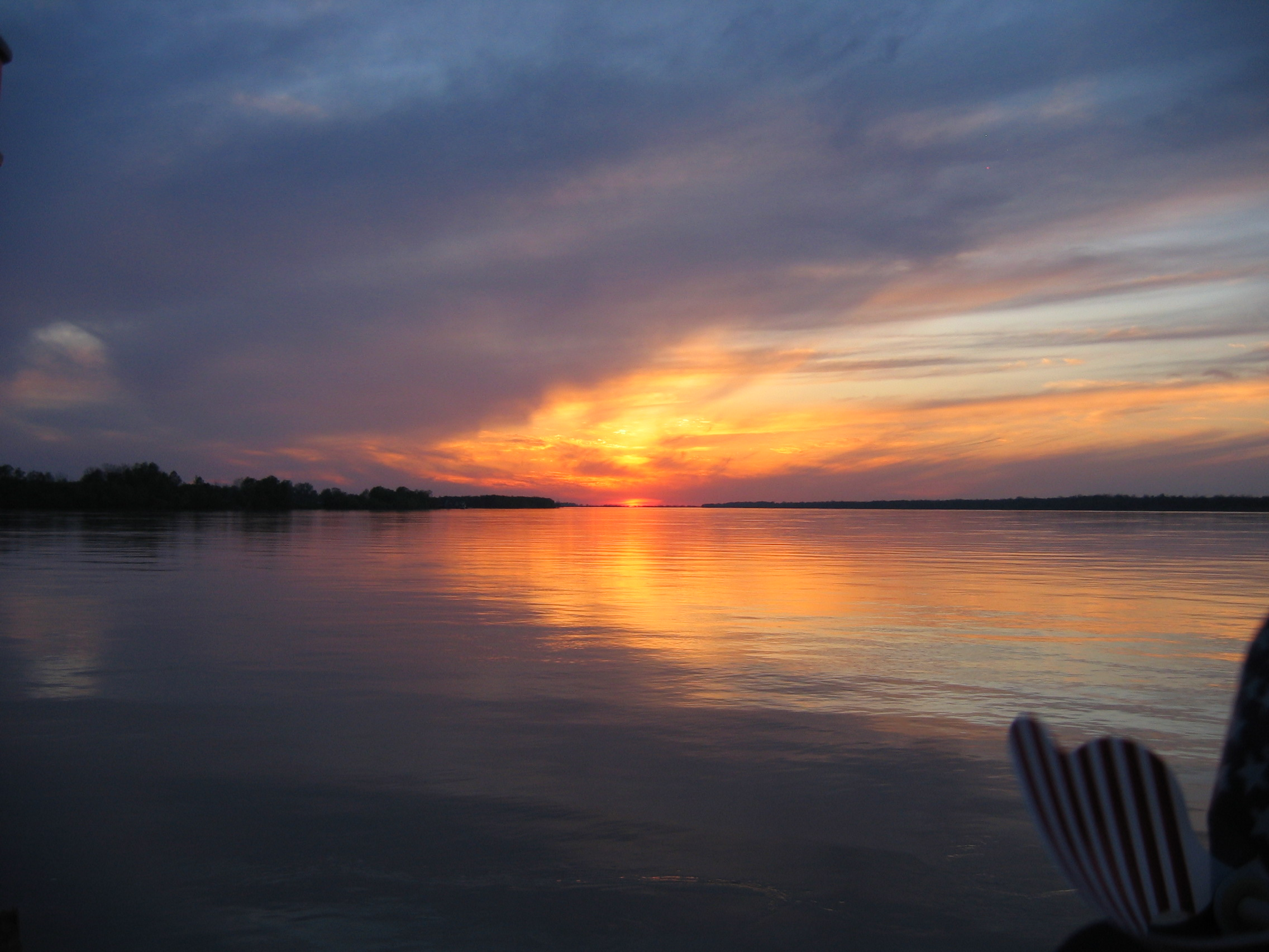 und ein beeindruckender Sonnenuntergang beschließt den Tag