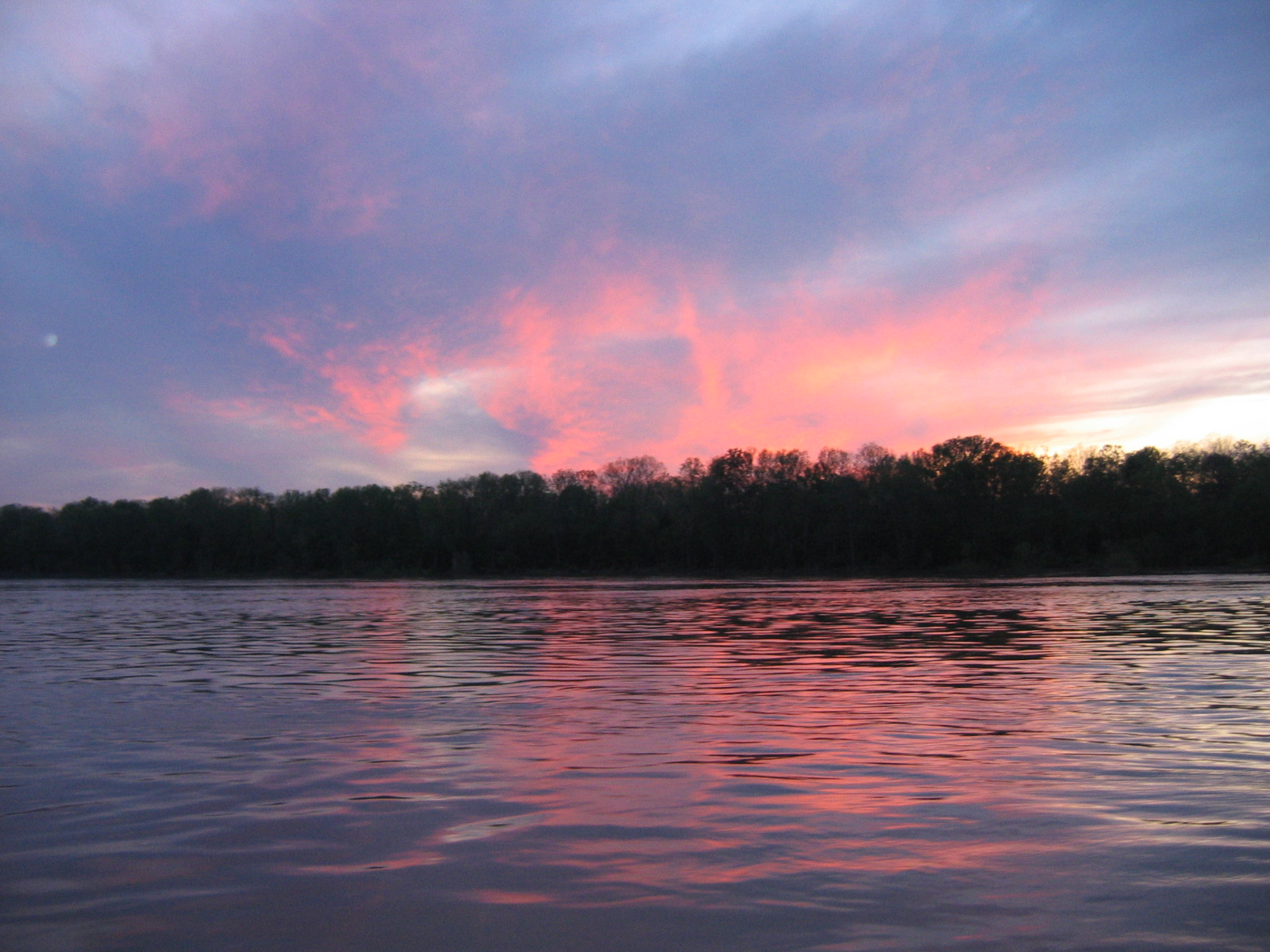 der Himmel färbt sich