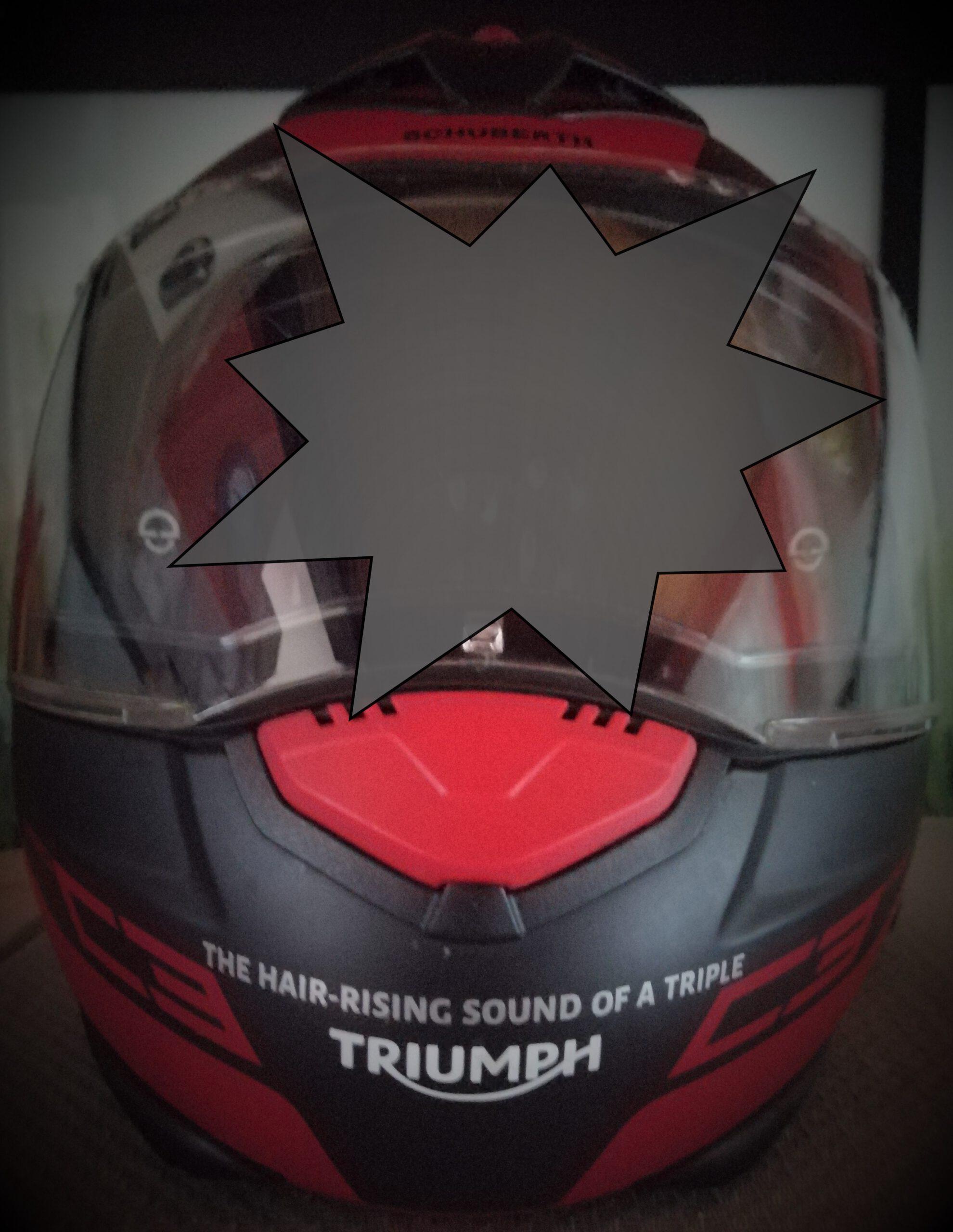Der aktuelle Werbe-Spruch von Triumph passt genauso auf die gute alte Sprint ST 1050